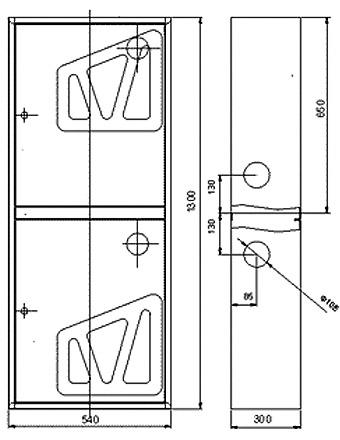 Пожарный шкаф ШПК-320В-21