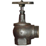 Клапан 15КЧ11Р угловой (чугун)